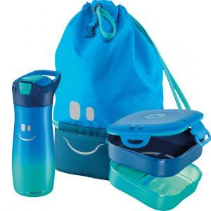 Kit Maped Picnik : gourde 580ml + boîte à déjeuner + sac à dos